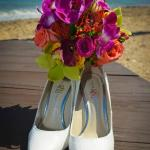 Getting ready to tie the knot at Bolongo Bay Beach Resort