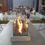 View of the Fire pit outdoors