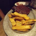 Park Grill Ribs and Steak Fries