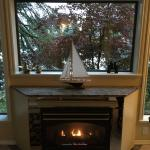 Fireplace Lakeside Suite