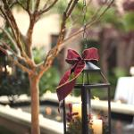 Enchanting holiday decor at Planters Inn! Spend a magical Christmas in Charleston!