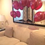 Adorable birthday balloons