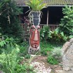 """going in to the bar """"the pineapple totem"""""""