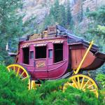 Cool old stagecoach