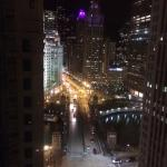Spectacular view from our room on 23rd floor.