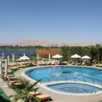 Pool overlooking the Nile River
