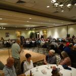 USO Party in Banquet Room