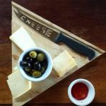 Afternoon snack for hotel guests - our very own Dolce Valle Cheese made right here in Grande Riv