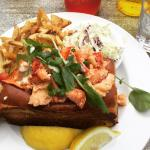 Lobster roll to beat all lobster rolls.