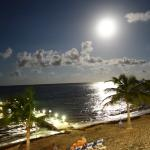 Full moon view at The Reef