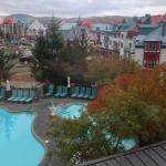 Fairmont Tremblant outdoor pools