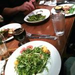 Excellent food, great menu: chicken livers, buffalo stake, goat cheese, and a lot if good beer.