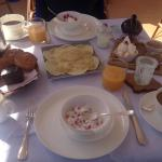 Amazing breakfast! Riad 72