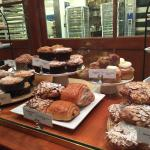 Beautiful display of all kinds of delicious pastries!