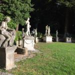 The Muses near the castle
