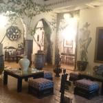 The ground floor of the riad