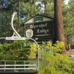 Look for this sign & old chair lift on Minaret Road