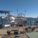 View from the dining room at Clam & Chowder