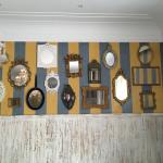 Wall of the breakfast room