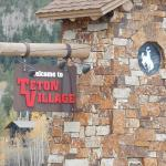 Teton Village sign