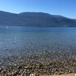 Some of the best swimming - Lake Country on Okanagan Lake