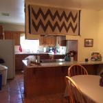 Kitchen & Dining Room in the King Casita
