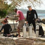 Scuba Diving at Tranquility - Shore dive from our beach