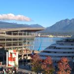 View of Canada Place from our Waterfront Room