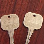 Real keys! Our kids had never seen real hotel keys.
