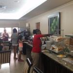 Another view of free breakfast in Pelican Room