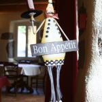A warm welcome in our restaurant