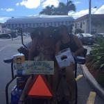 Our golf cart pick up