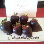 A delicious surprise in the room!