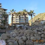 Outside view of Gran Solmar