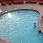 The pool from my room.