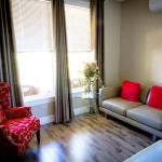 Spacious Living Room Area in Executive One Bedroom