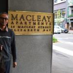 The Macleay Apartments Hotel, Sydney.