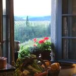 View from the kitchen