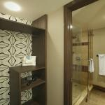 Bathroom in the Blue Chip Tower