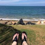 Relax, put your feet up, breath in the fresh ocean air. This is the life!