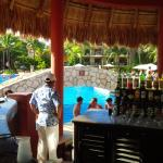 Tequila bar and swim up