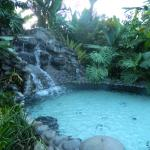 Just one of the spa springs pools, heavenly.