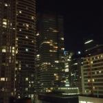 Nightime View of Downtown Toronto from My Room at Hilton Garden Inn Toronto Downtown