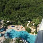 View of the pool from our room