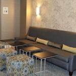 Relax with a glass of wine in Hotel lounge/ breakfast room