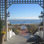 View from Entrance of Chatham Bars Inn