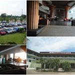 Well kept resort, ample parking but could be full during peak season