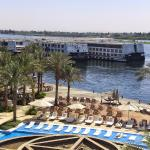 fascinating view from luxor