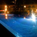 The Pool at night....