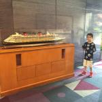Awesome Ship in Disney Resort Lobby